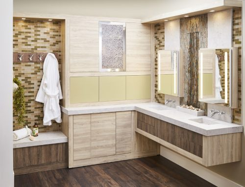 Wellborn Cabinets Spa-like Bathroom